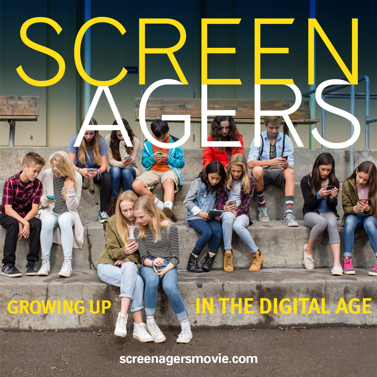 Screenagers - special screening at STS on January 17 at 7pm