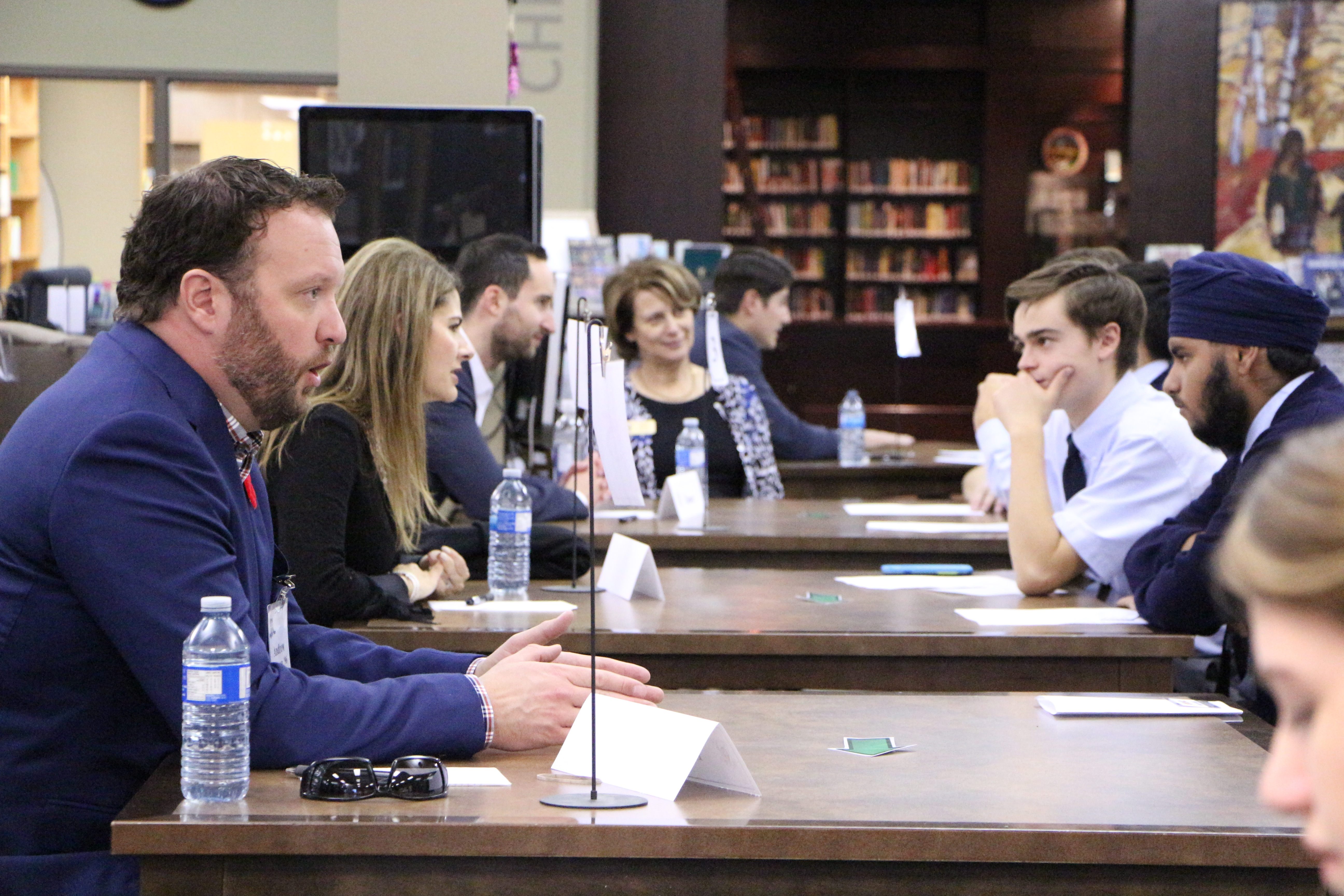 Alumni Speed Mentoring Event 2016-1