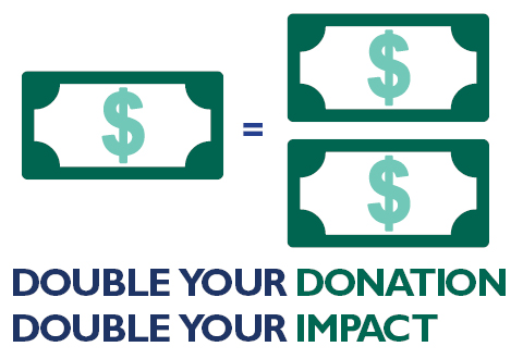 Image result for double your donation