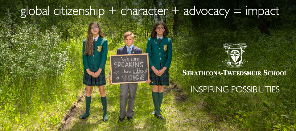 Global Citizenship + Character + Advocacy = Impact